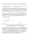 French Interpretation Waiver